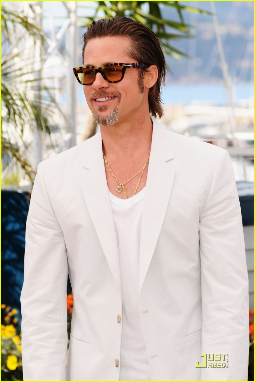 brad pitt cannes tree of life 02