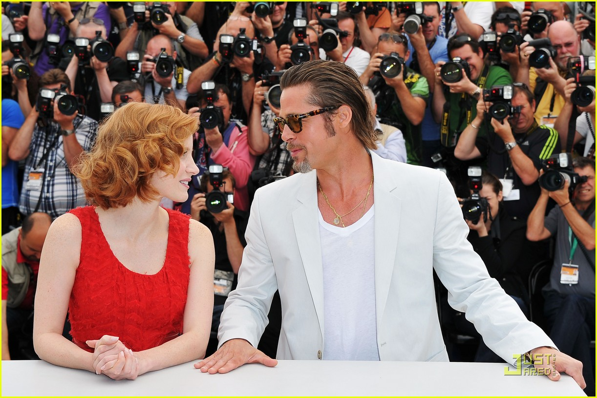 brad pitt cannes tree of life 05
