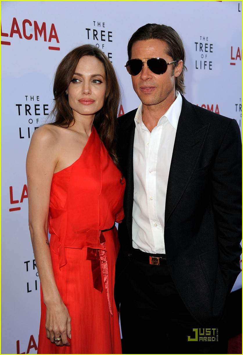 angelina jolie brad pitt tree life screening 15