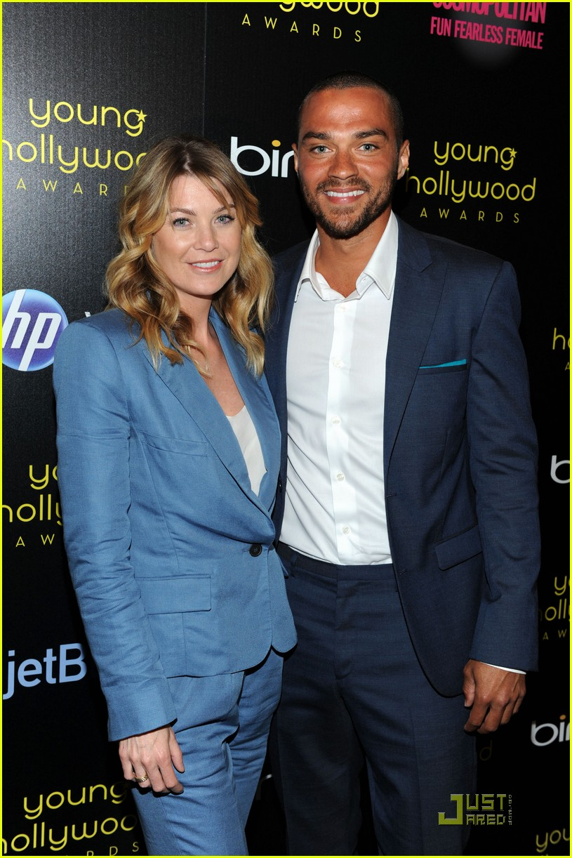 ellen pompeo jesse wililams young hollywood awards 02