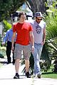 zachary quinto sunny stroll 05