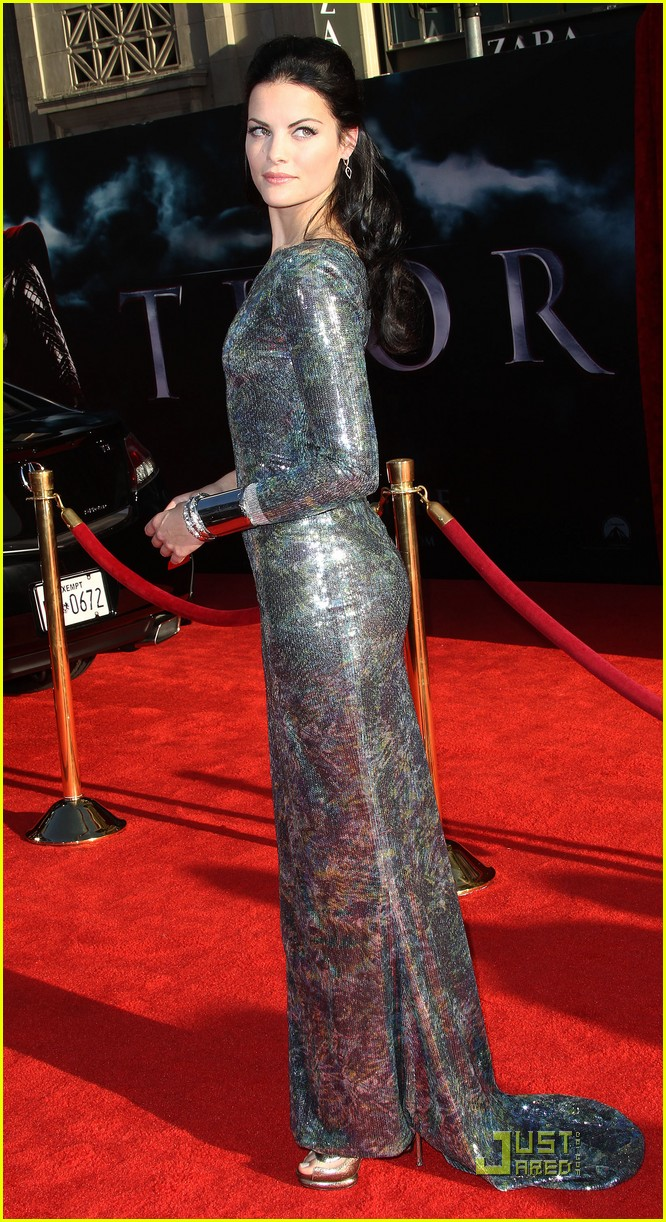 Thor Premiere: Jaimie Alexander and More!: Photo 2540772 ...