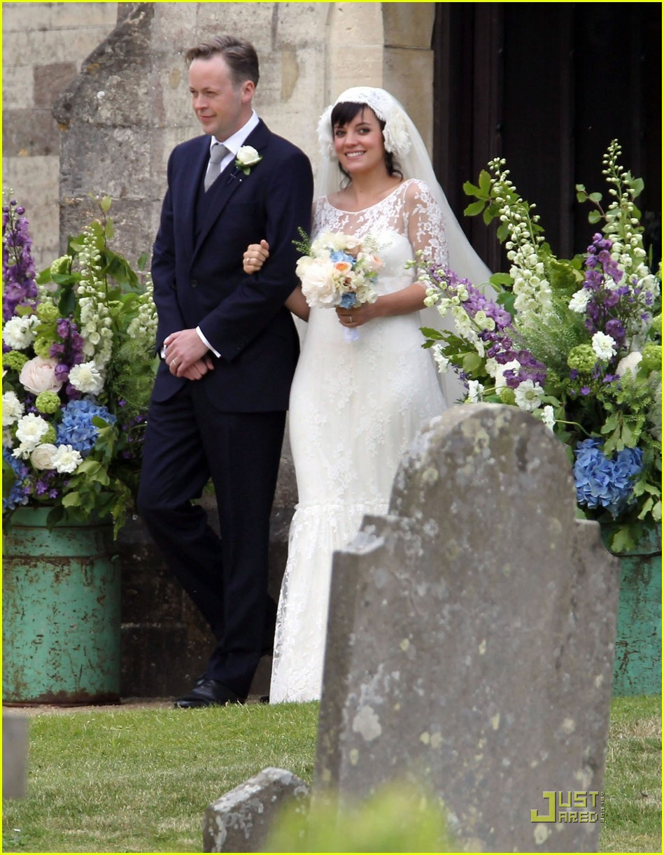 lily allen sam cooper wedding 03