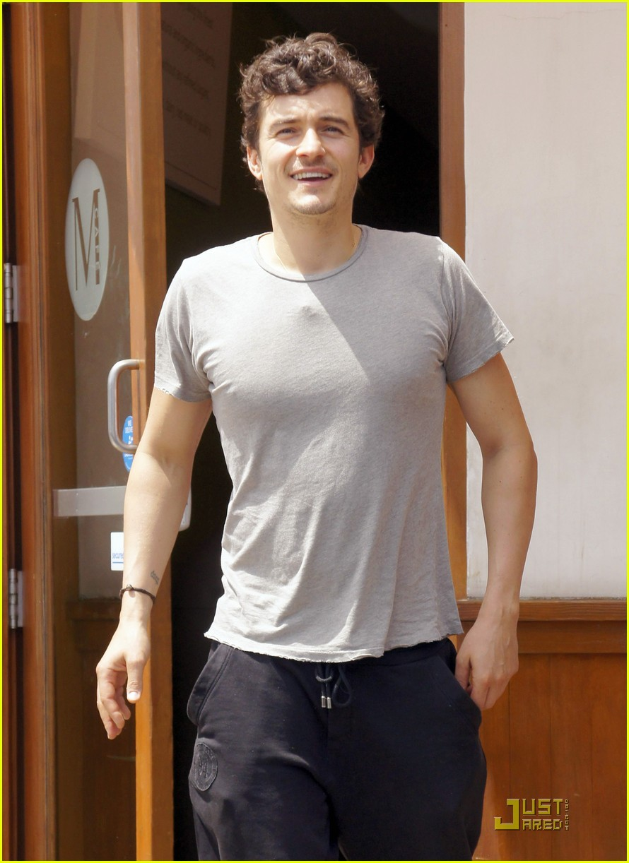 orlando bloom miranda kerr m cafe mates 04