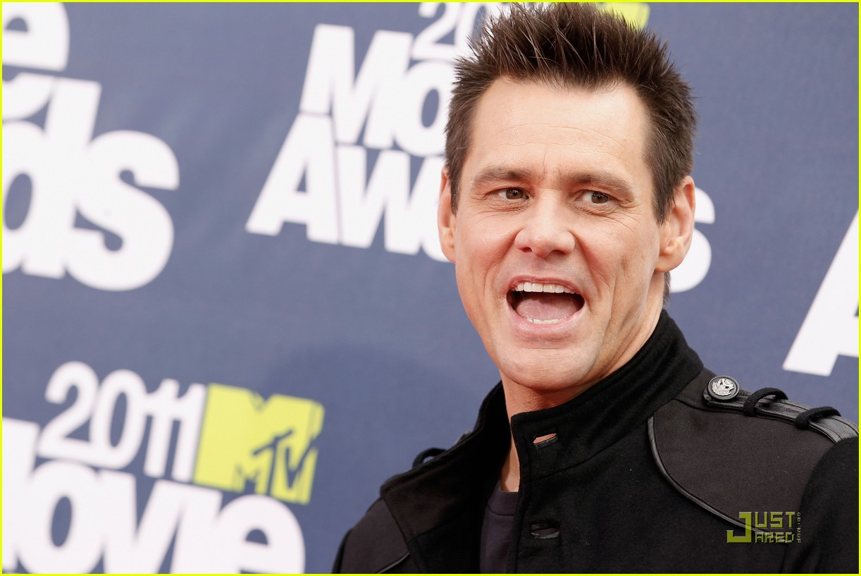 jim carrey mtv movie awards 2011 11