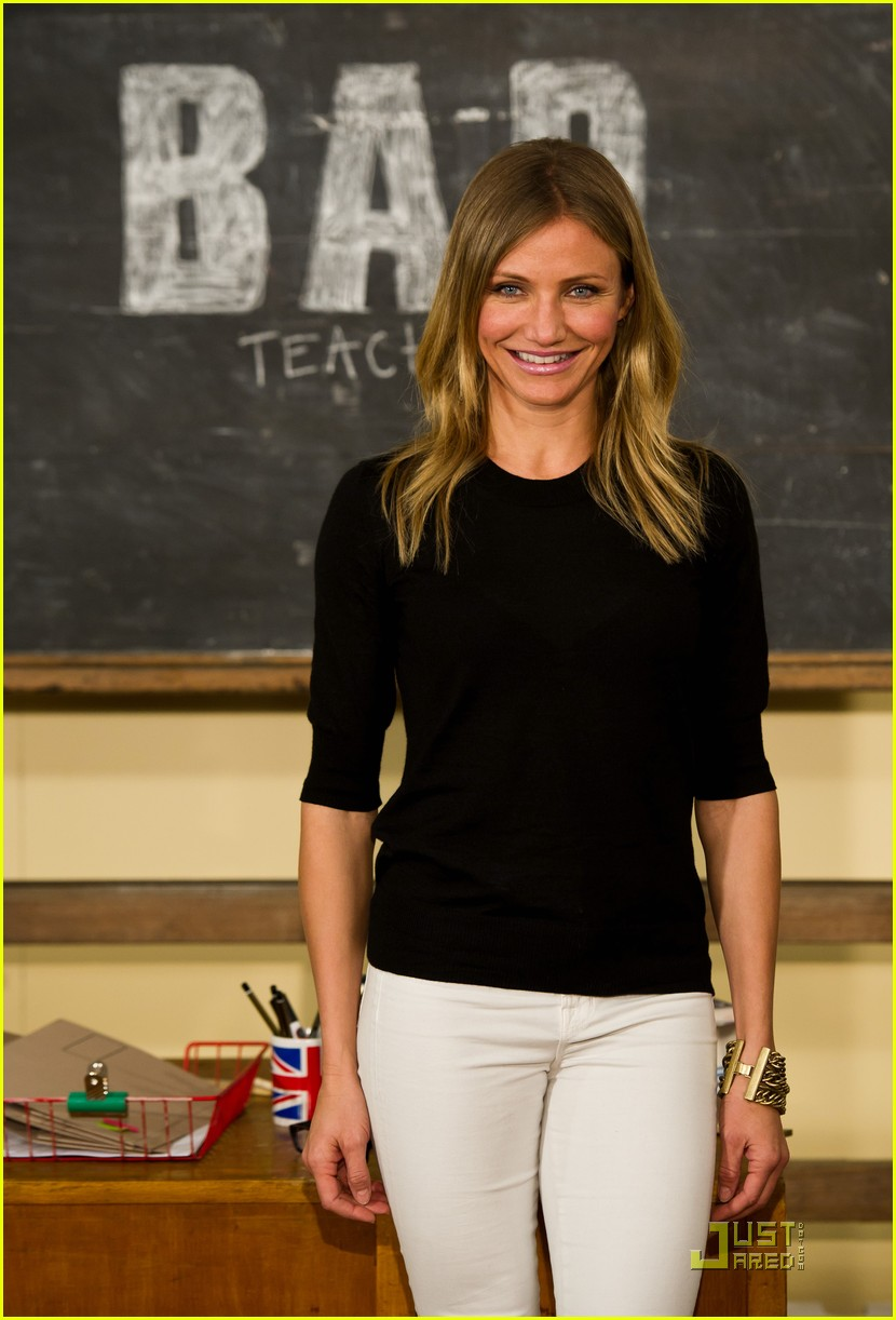 cameron diaz bad teacher london 04