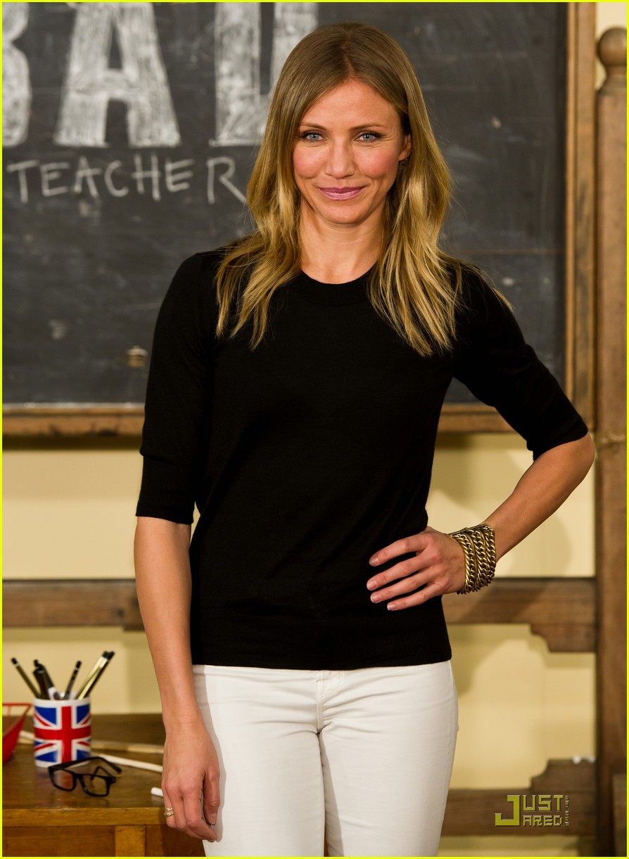 cameron diaz bad teacher london 12