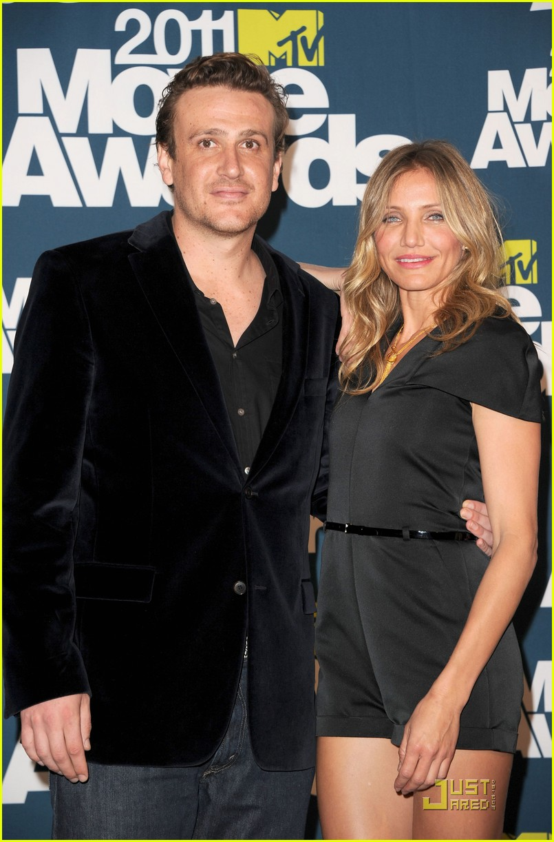 cameron diaz mtv movie awards jason segal 03