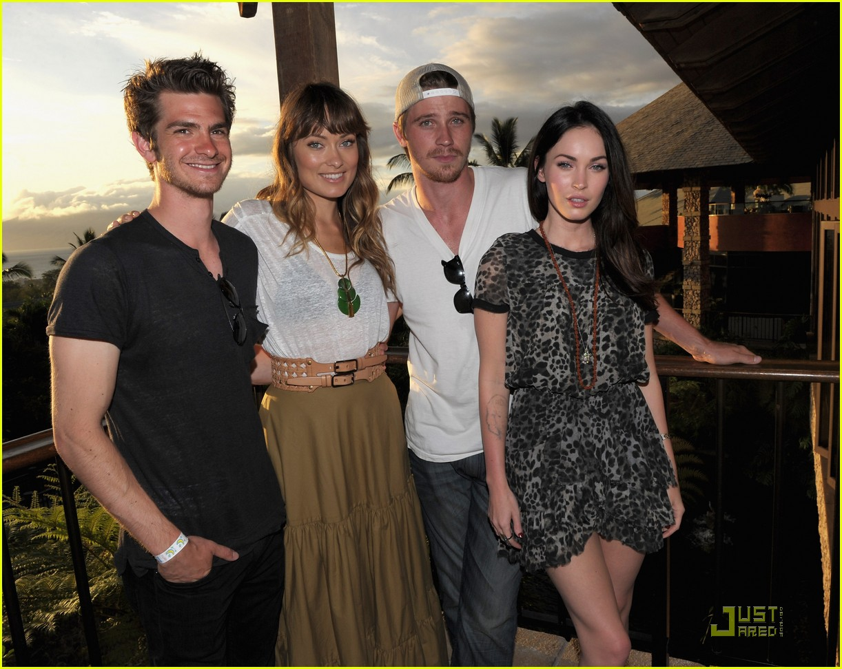 andrew garfield megan fox 2011 maui film festival 02