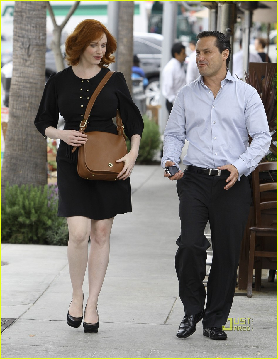 christina hendricks friend beverly hills 09