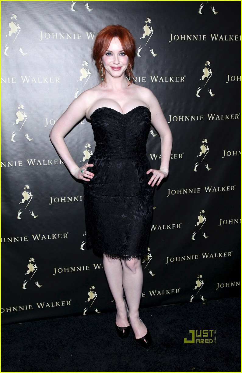christina hendricks johnnie walker fathers day 102550962