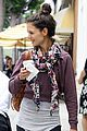 katie holmes cropped sweatshirt workout 05