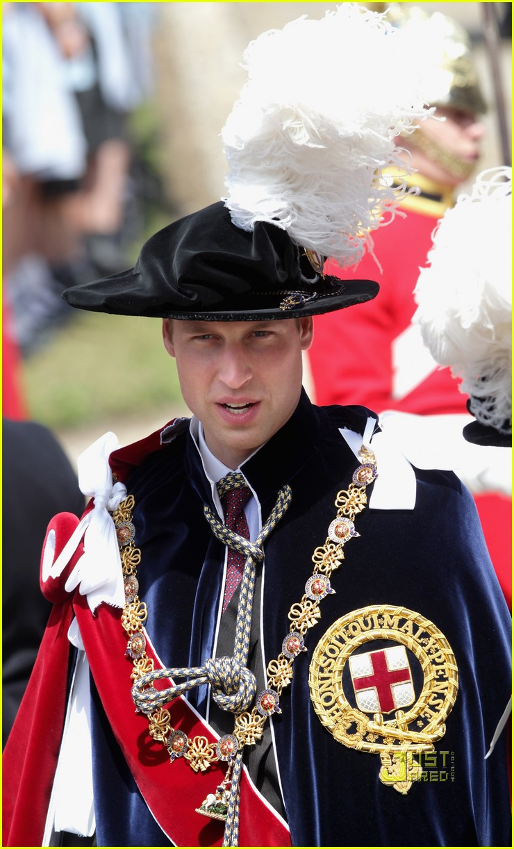 kate middleton prince william garter service 10