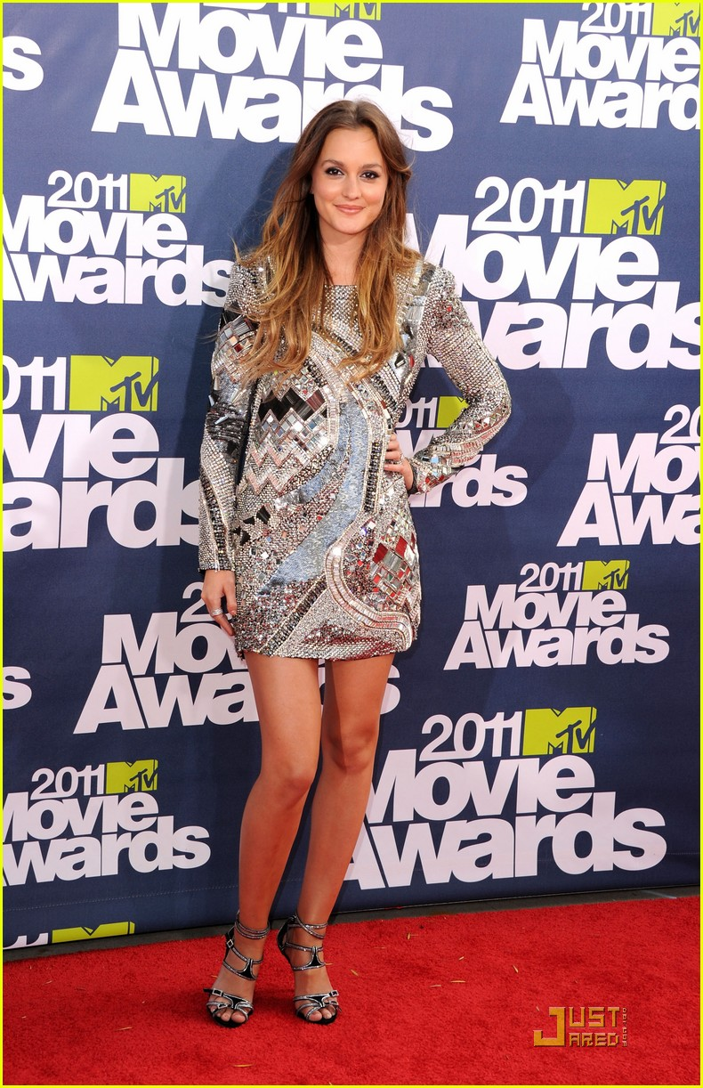 leighton meester mtv movie awards 2011 05