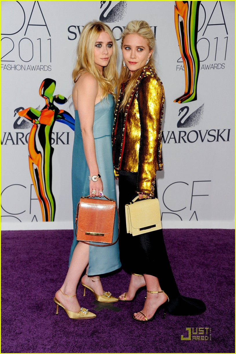ashley mary kate olsen cfda 09
