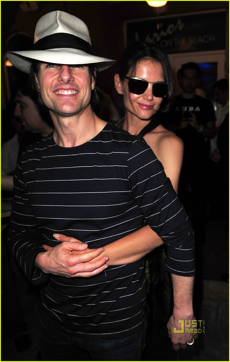 tom cruise katie holmes rock of ages cast party 01