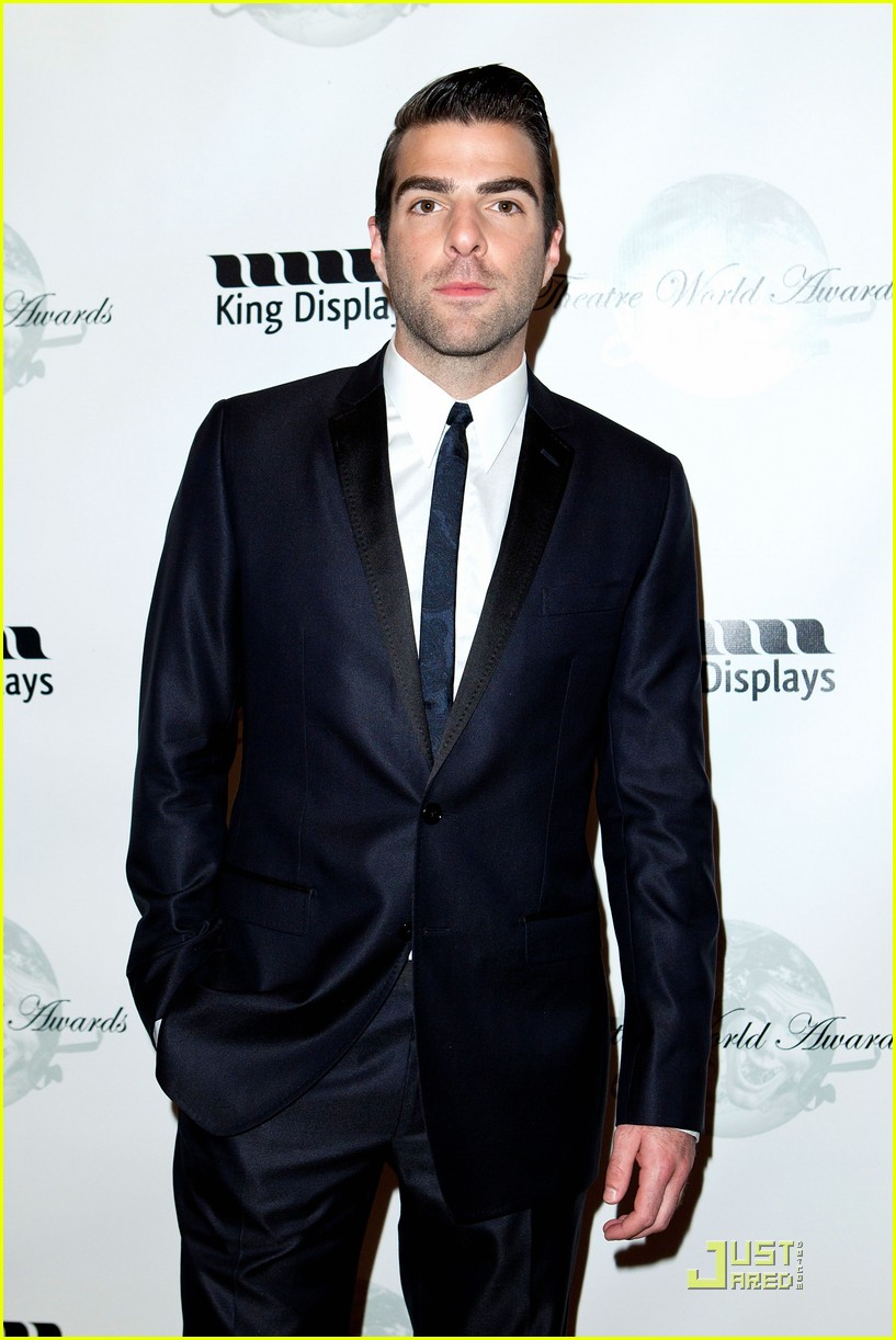 zachary quinto theatre world awards 03