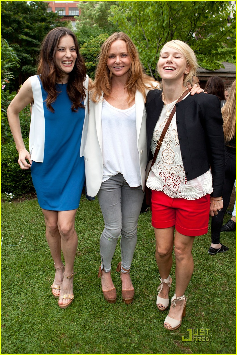liv tyler naomi watts stella mccartney presentation 07