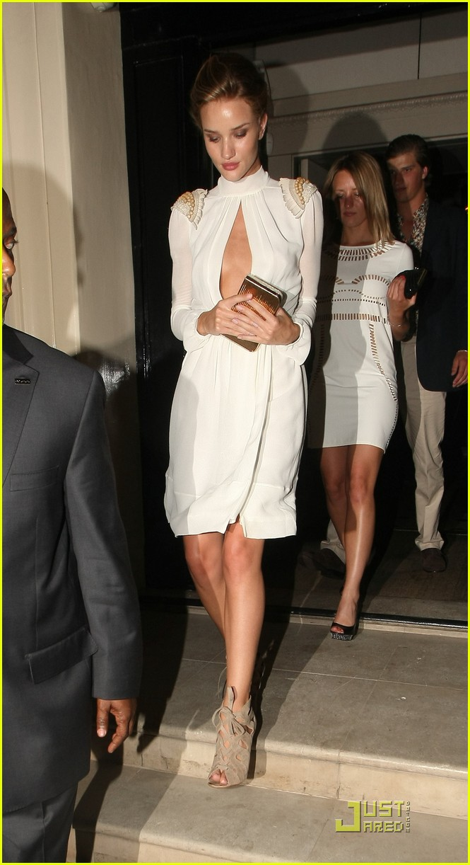 rosie huntington whiteley transformers premiere after party 01