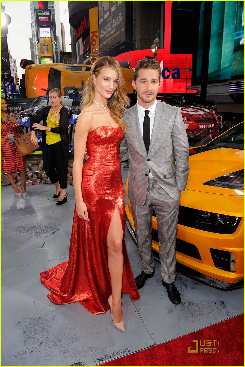 rosie huntington whiteley tranformers nyc premiere 05