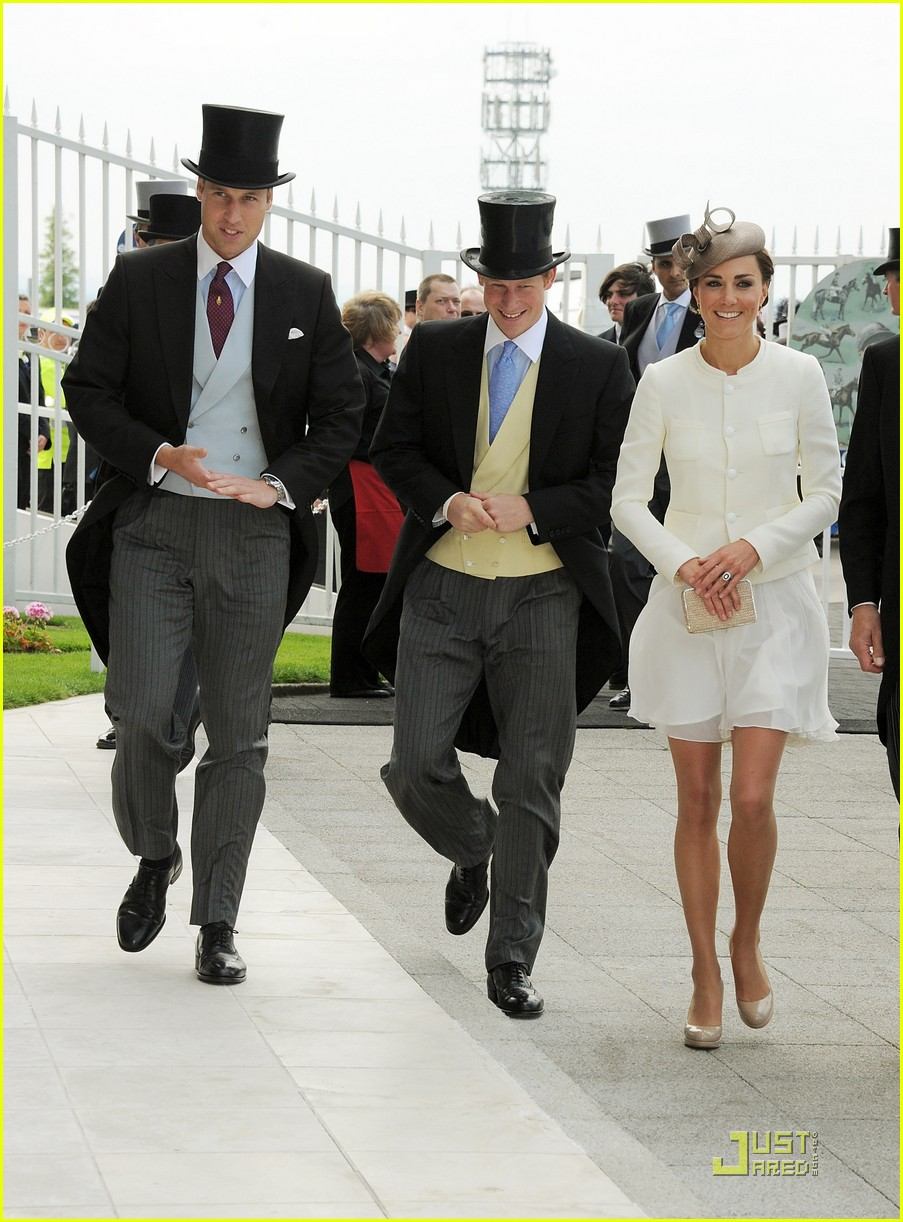 prince william kate middleton derby 03