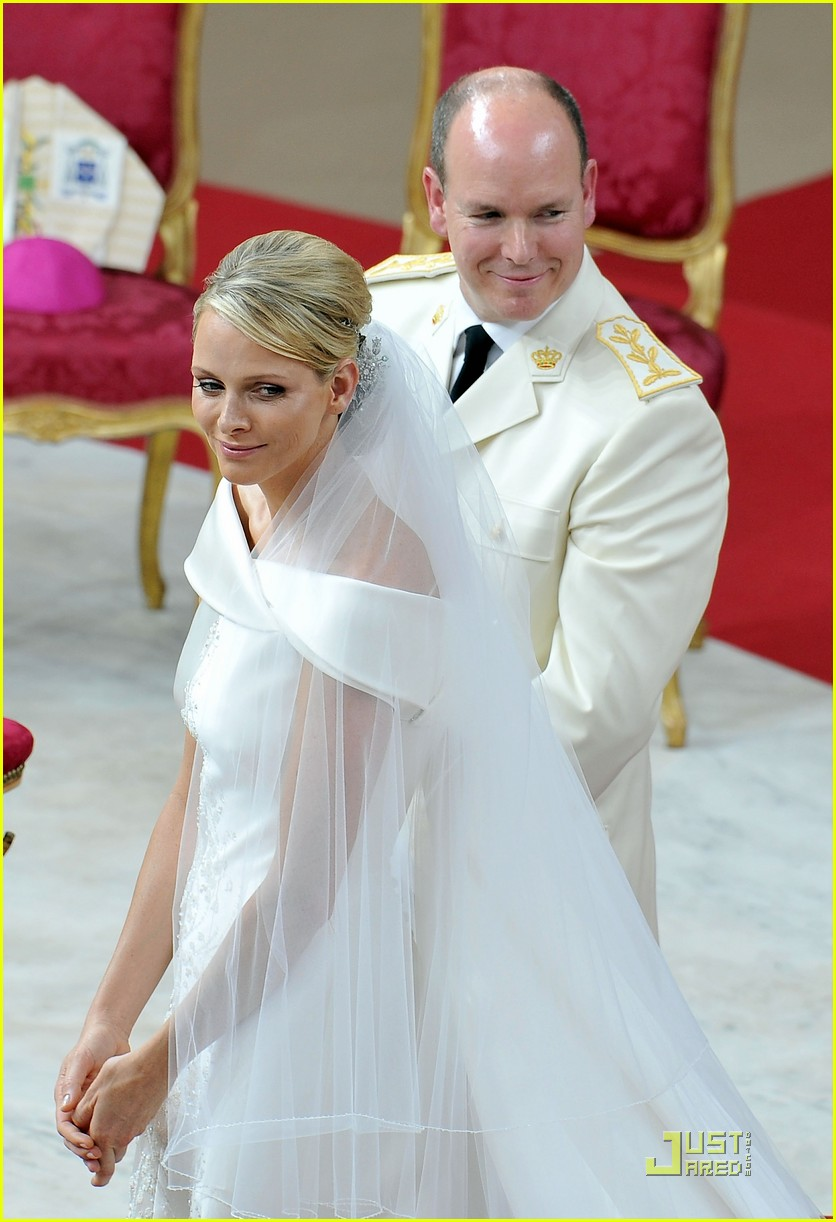 prince albert princess charlene royal wedding 01