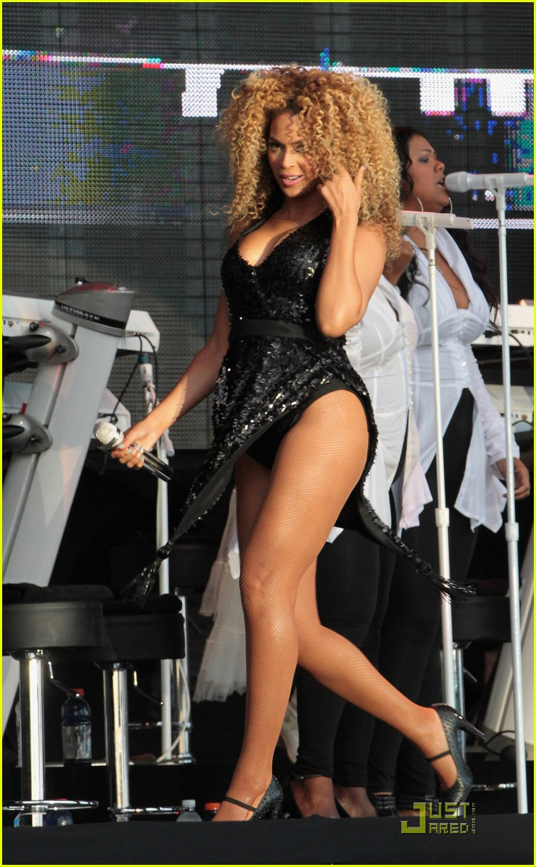 Pity, that Beyonce sexy legs and thighs are
