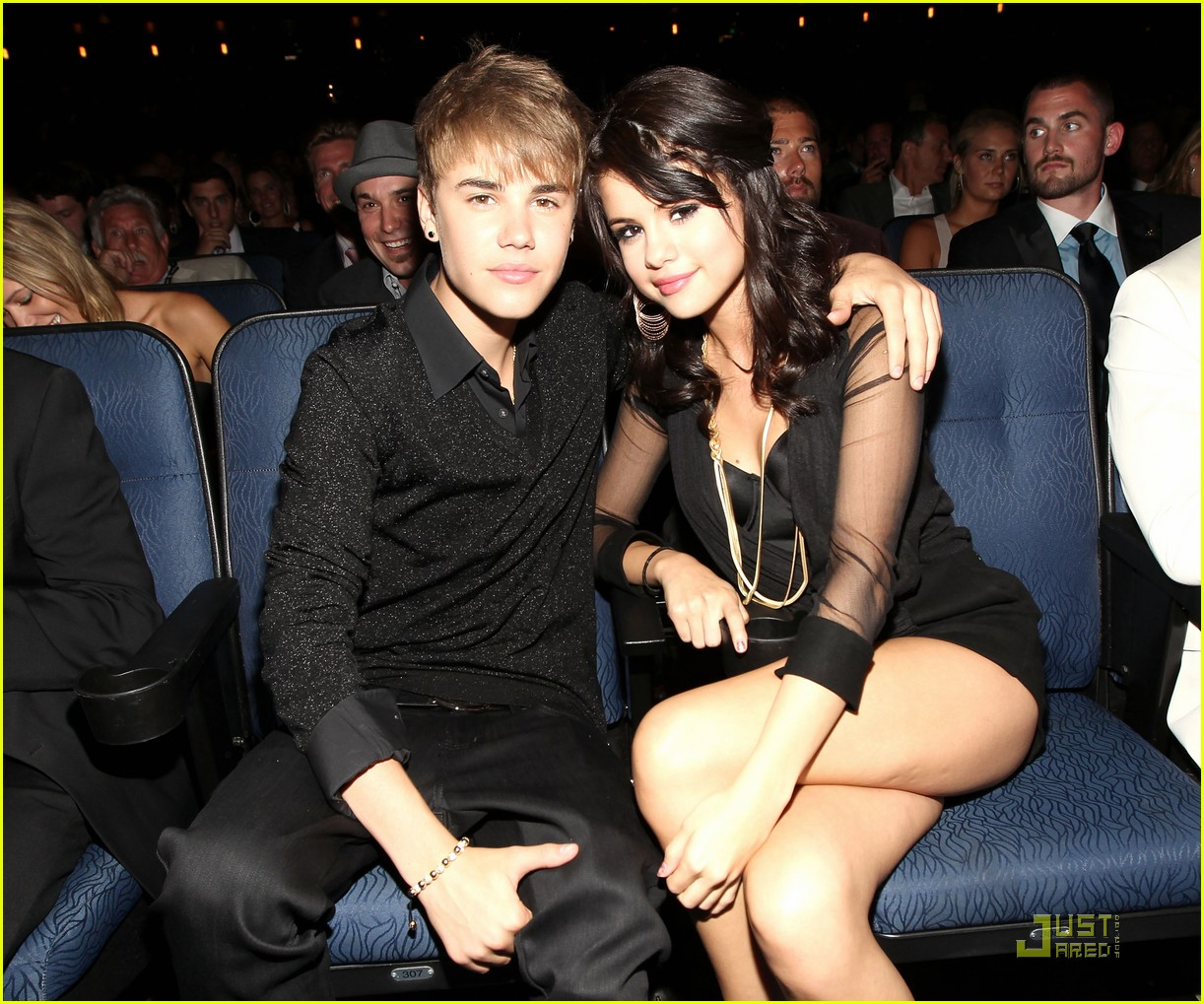 justin bieber selena gomez espy awards 2011 02
