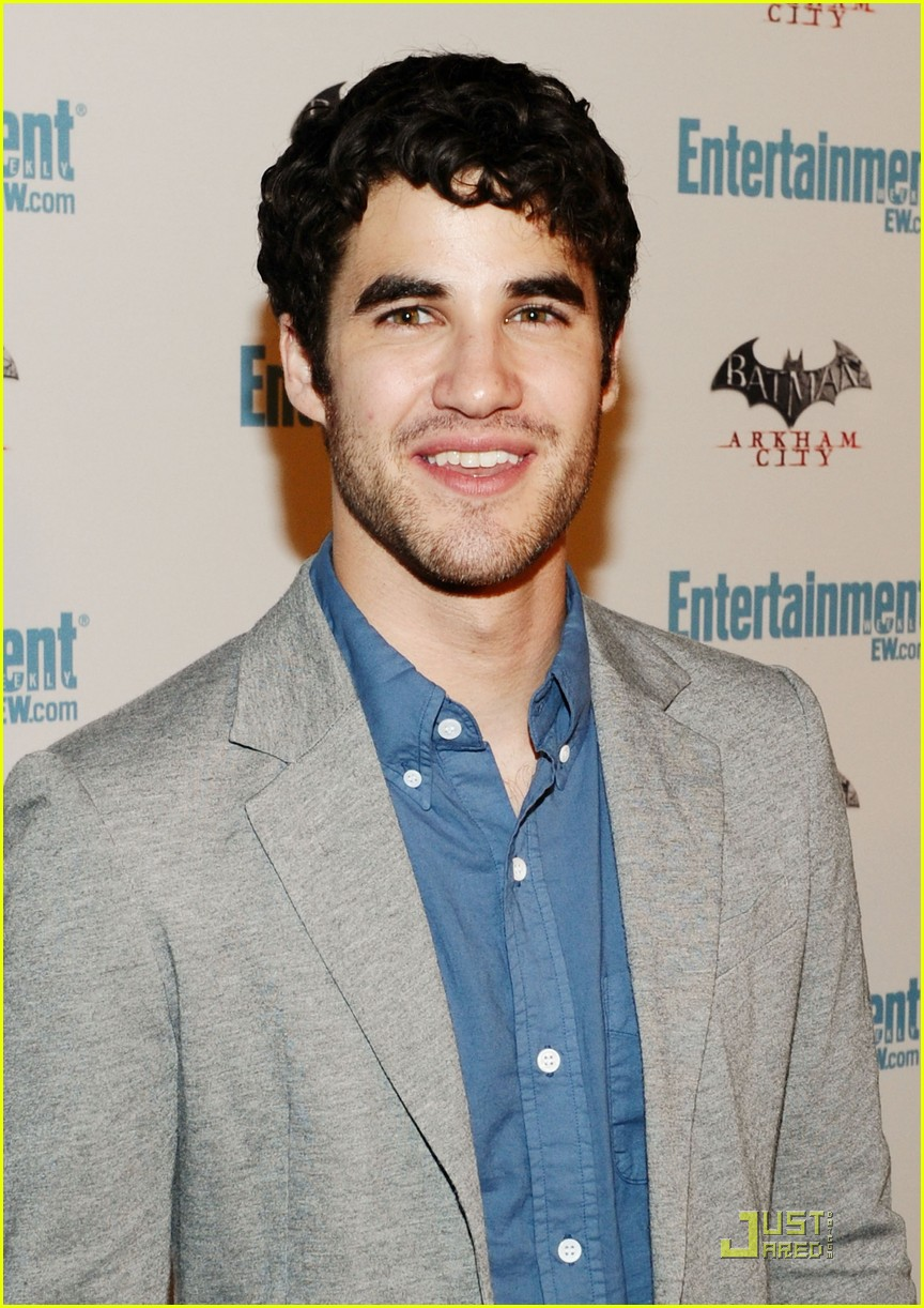 darren criss i dont want blaine to leave dalton 05