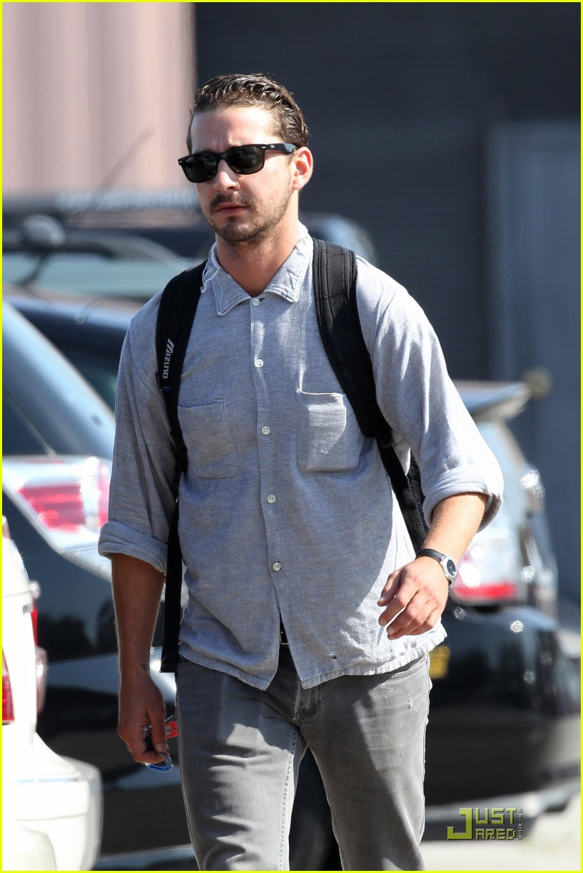 shia labeouf coffee work 12