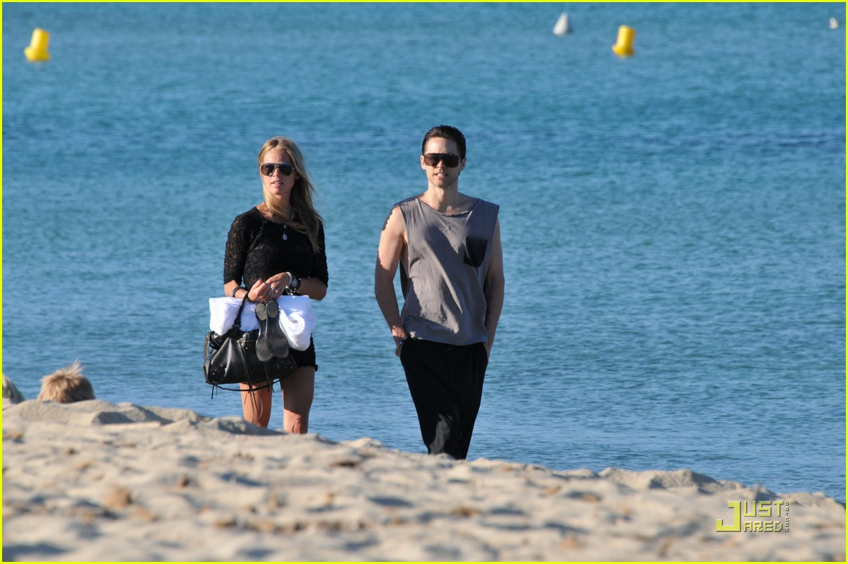 Jared Leto: St. Tropez with Katharina Damm!