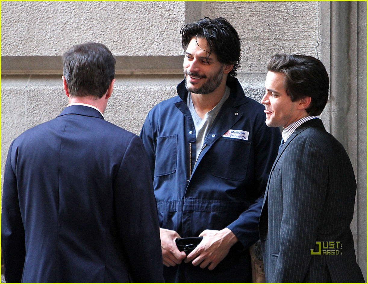 joe manganiello white collar set matt bomer 03