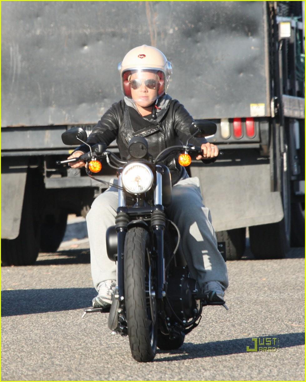 pink carey hart motorcycle 05