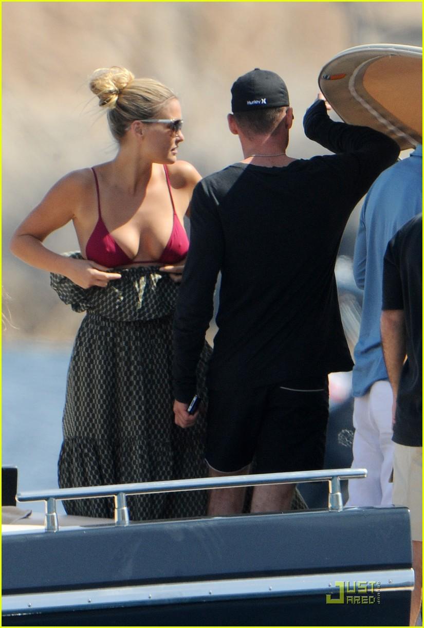 bar refaeli bikini boat 09