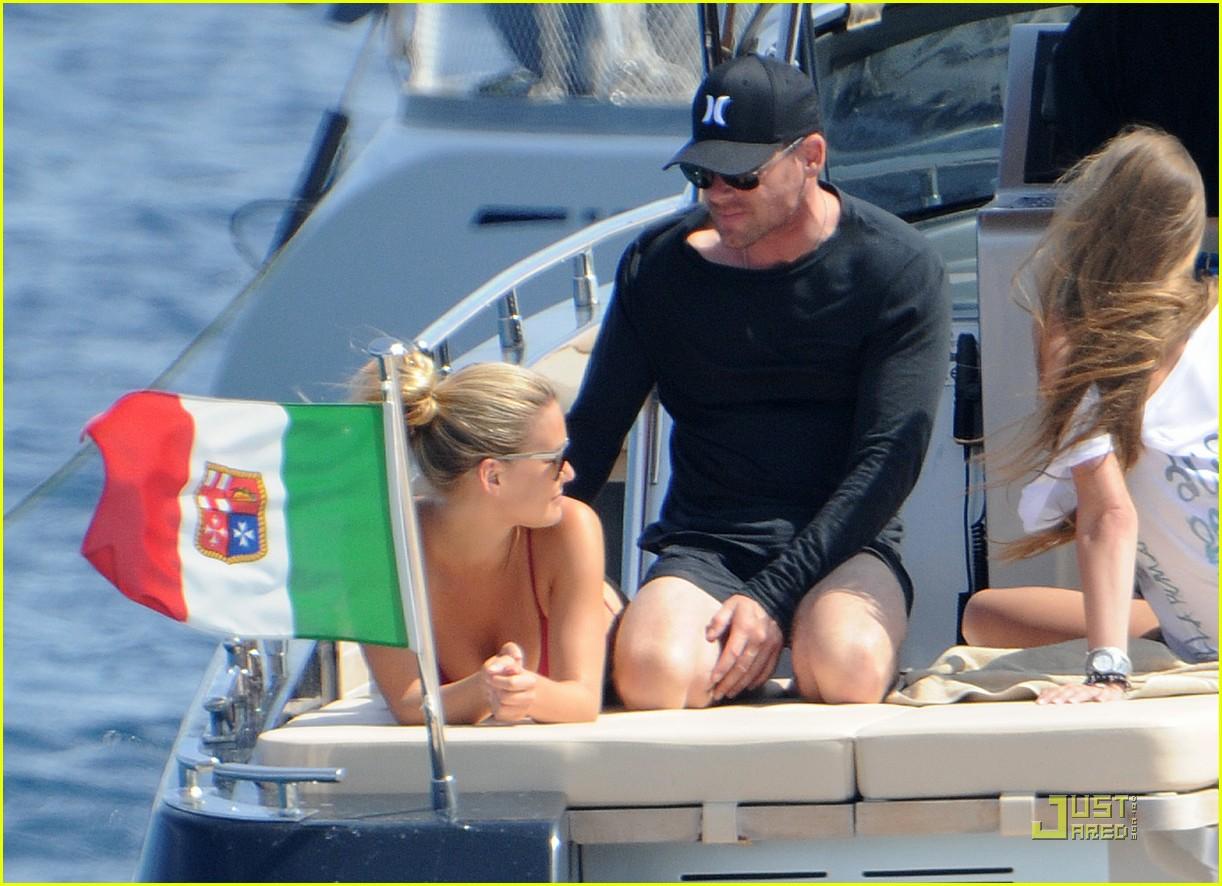 bar refaeli bikini boat 10