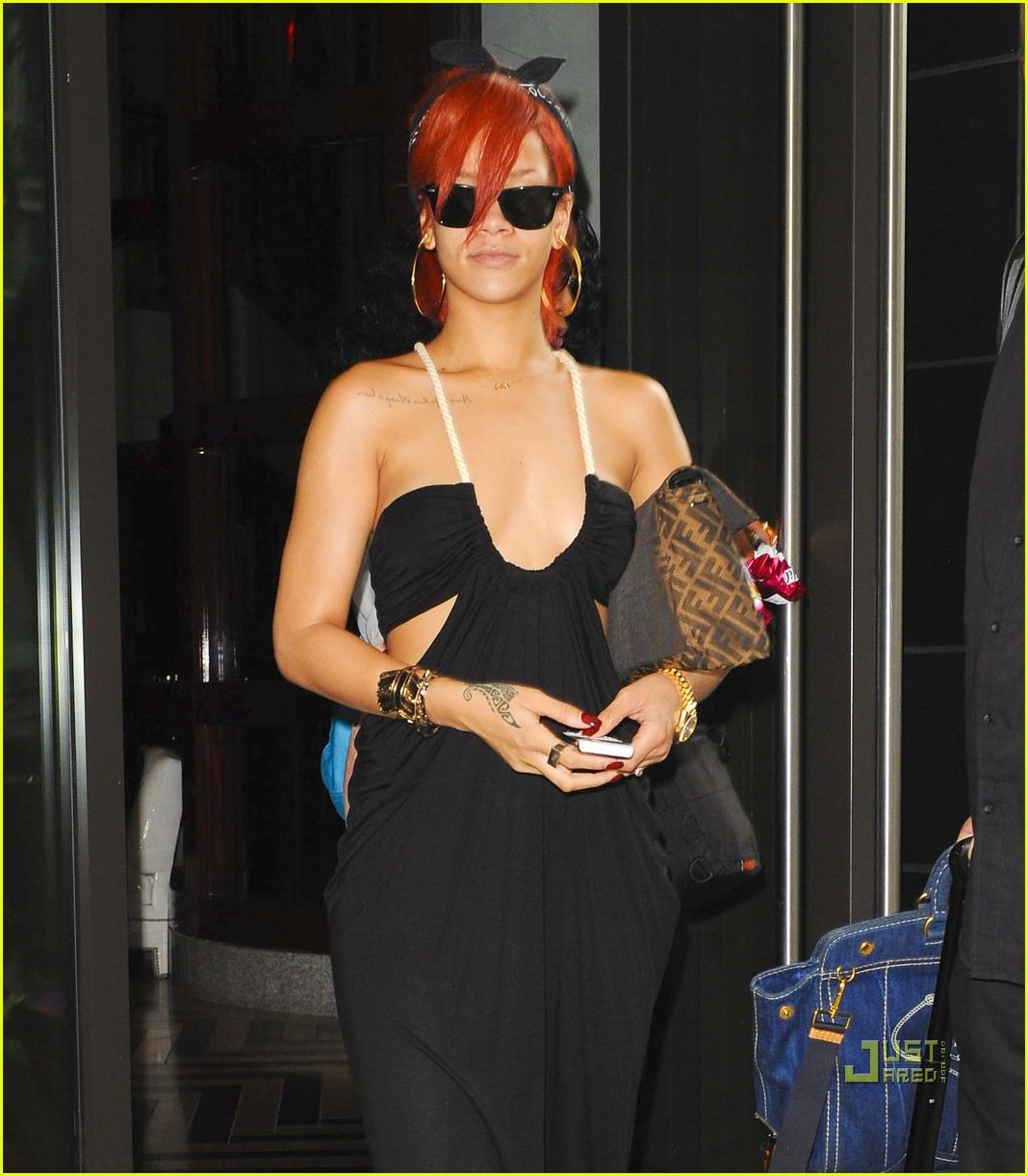 rihanna hotel nyc sundress 012562687