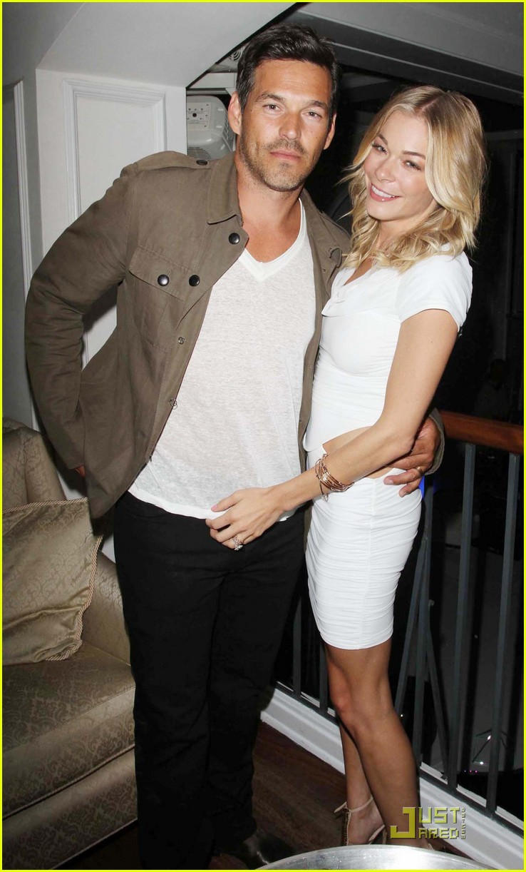 leann rimes eddie cibrian espy pre party 03