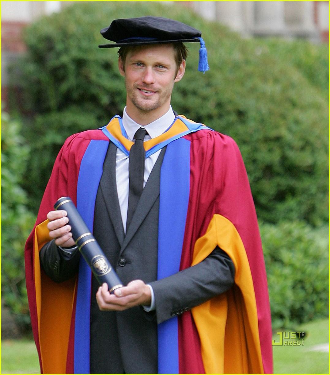 alexander skarsgard honorary degree leeds 02