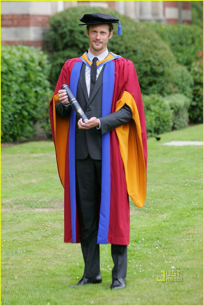 alexander skarsgard honorary degree leeds 05