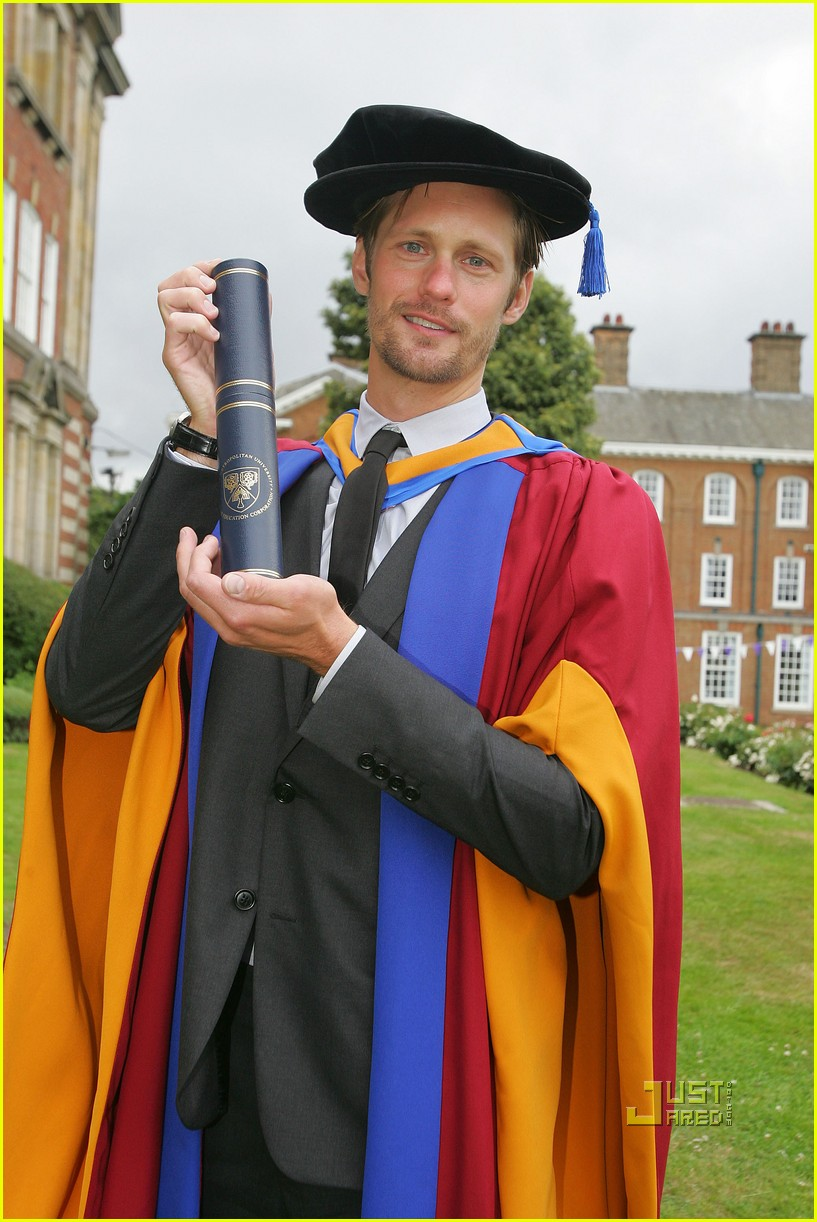 alexander skarsgard honorary degree leeds 07