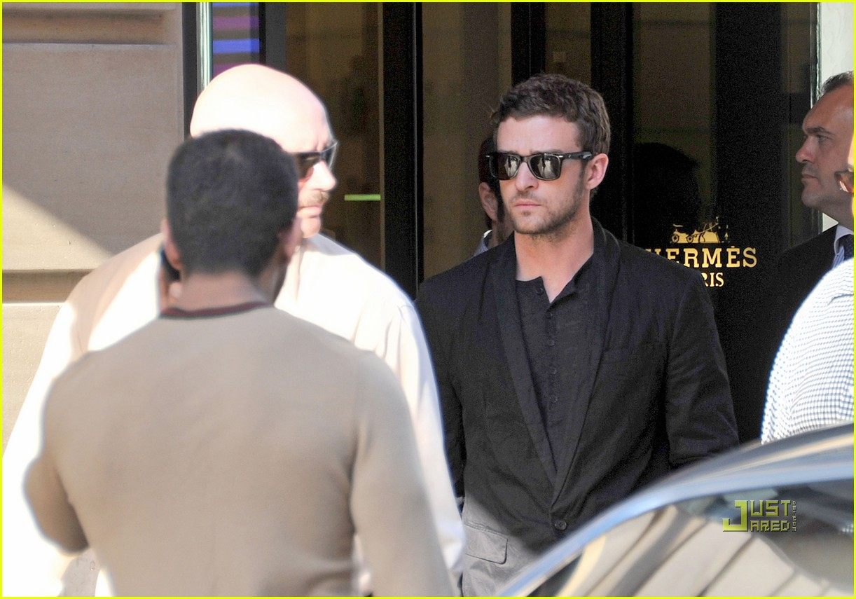 justin timberlake shopping paris 03