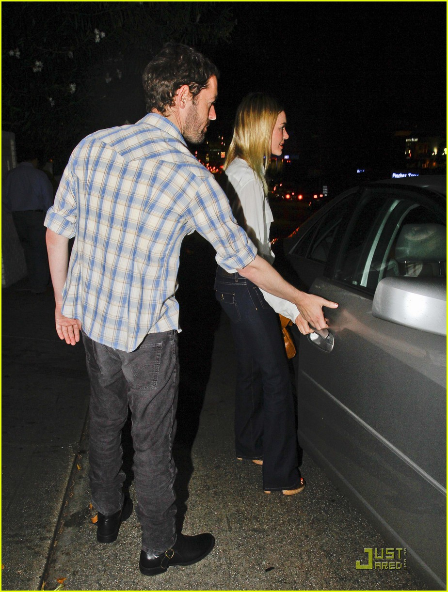 kate bosworth michael polish dinner 03