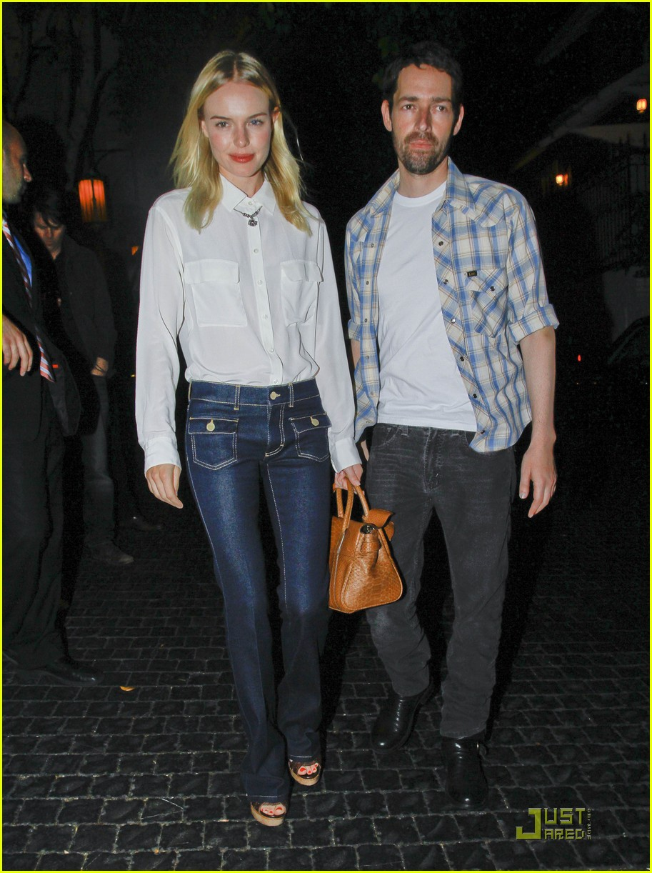 kate bosworth michael polish dinner 07