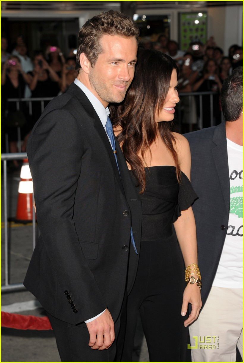 sandra bullock ryan reynolds change up premiere 26