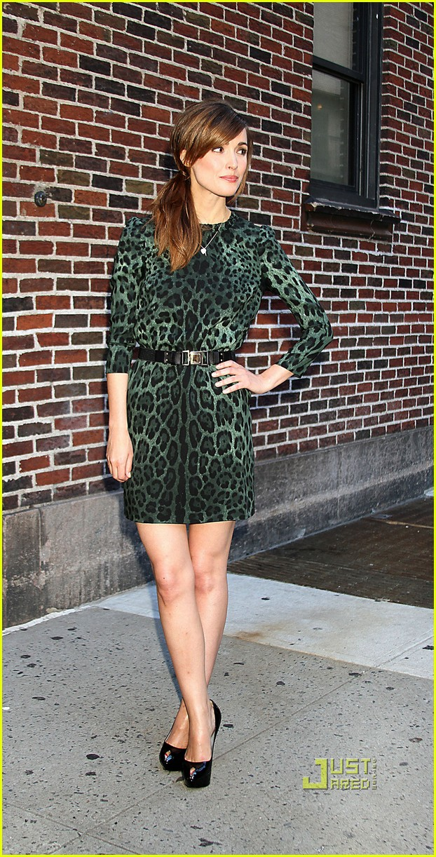 rose byrne david letterman 04