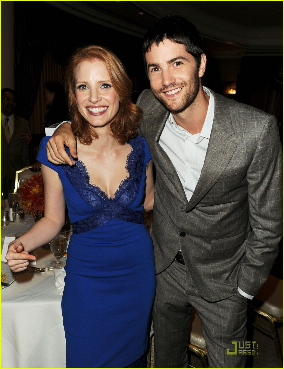 jessica chastain jim sturgess hfpa luncheon 03