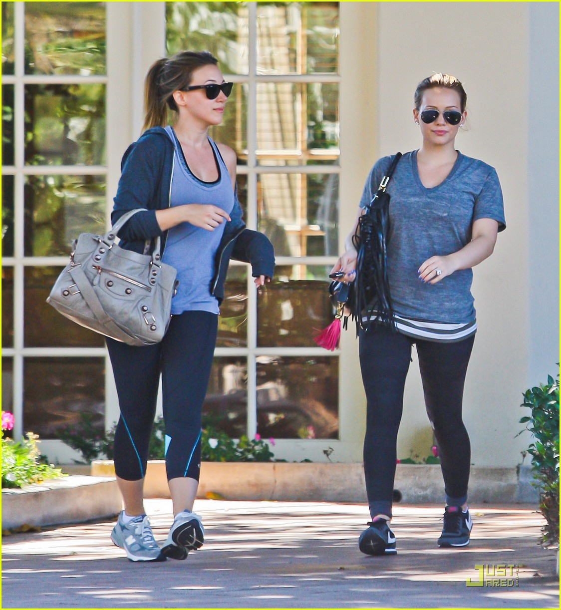 hilary haylie duff gym 07