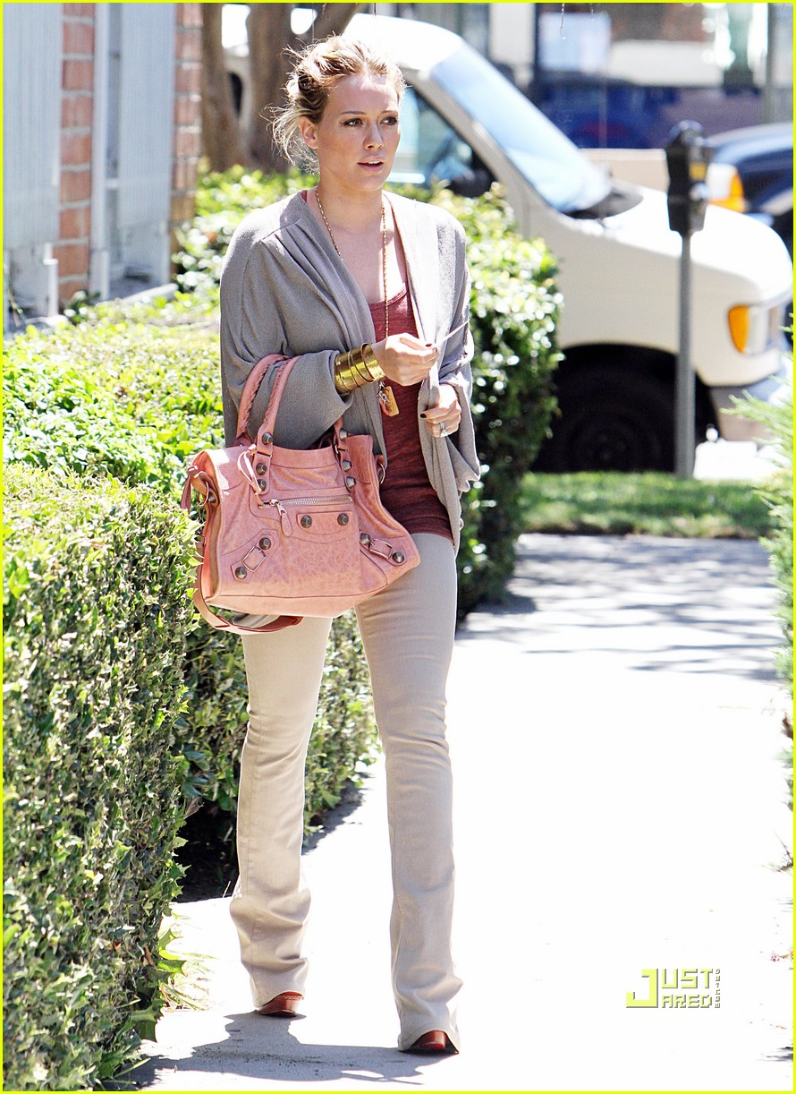 hilary duff doctor appointment 07