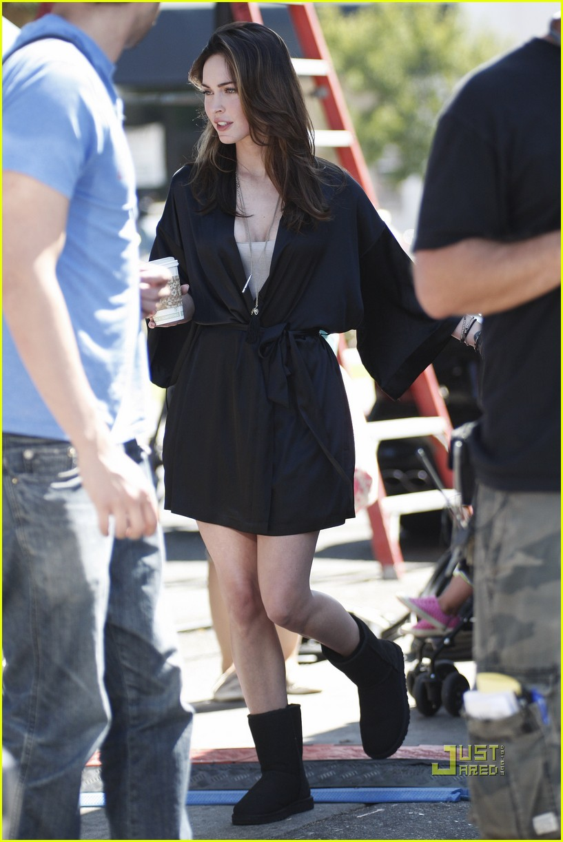 megan fox coffee this is forty 02