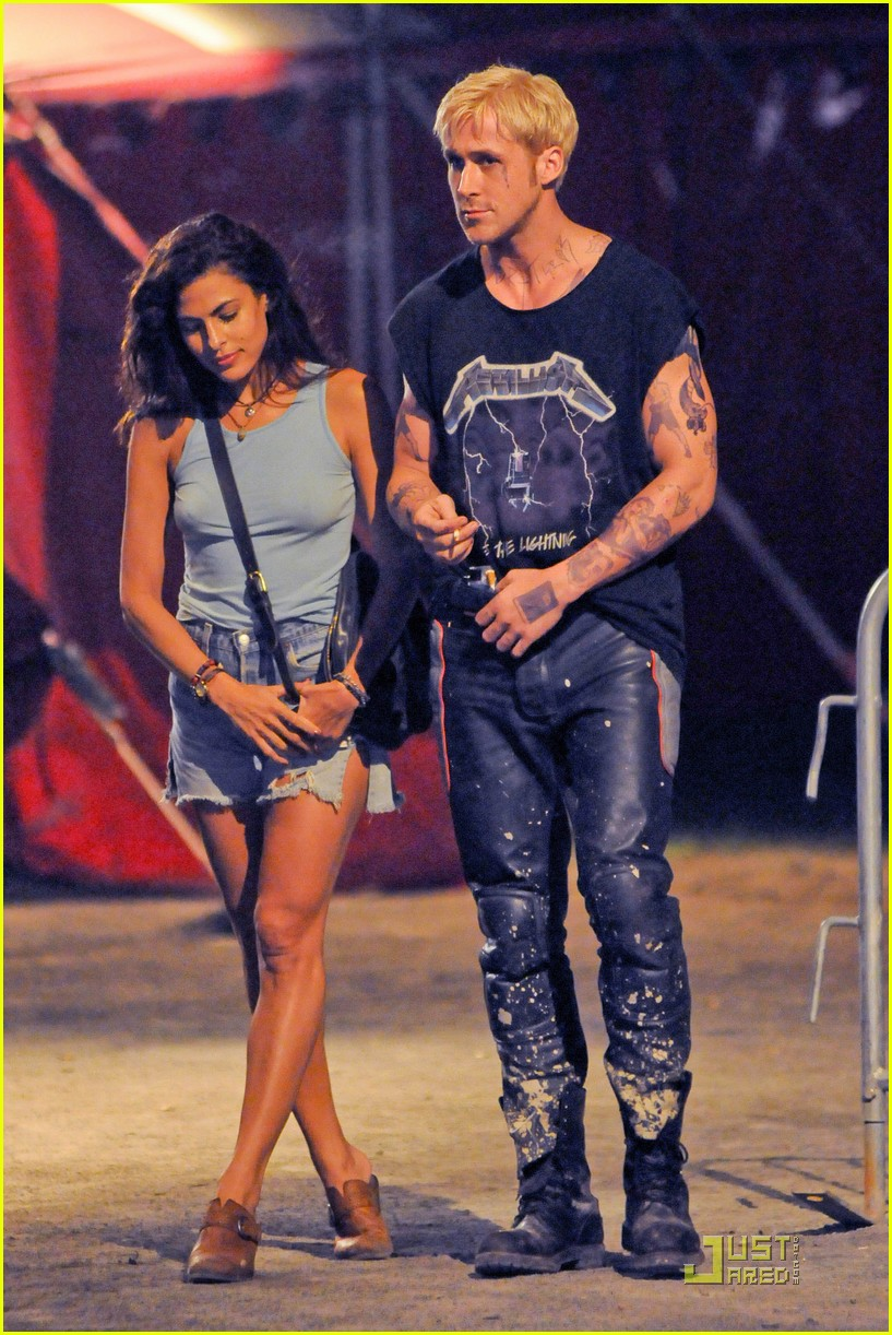 ryan gosling eva mendes more pines filming 07